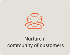 community of customers